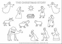 christmas story coloring pages theotix me