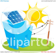 solar panels clipart royalty free vector clip art illustration of a sun shining on a