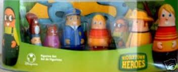 disney higglytown heroes 6pc pvc figurine playset
