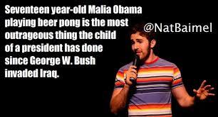 Obama Beer Meme - malia obama caught playing beer pong imgur
