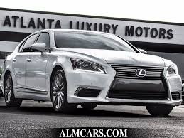 lexus minivan 2015 2015 used lexus ls 460 base at alm gwinnett serving duluth ga