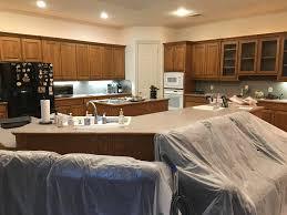 kitchen backsplash with oak cabinets and white appliances traditional kitchen granger remodel design