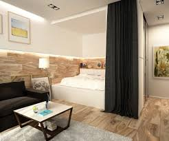 modern single apartment design with creative bedroom ideas