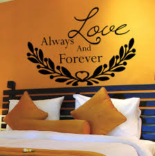 compare prices on forever love quotes online shopping buy low wall decal quotes love always and forever decal bedroom home decor vinyl china