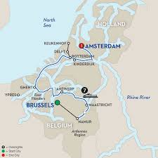 Where Is Brussels Belgium On A Map Tour Wna 2019