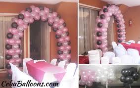 designs of entrance balloon arches cebu balloons and party supplies