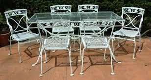 Wrought Iron Patio Chair White Wrought Iron Patio Furniture Furniture Decoration Ideas