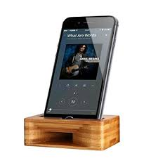 sound lifier for android cell phone stand archeer iphone stand holder bamboo wood phone