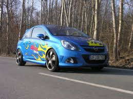 opel corsa opc opel corsa opc with 320 ps by dbilas dynamic