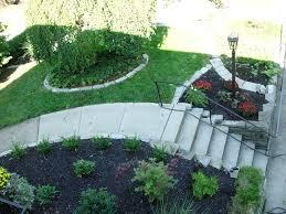 Landscaping Ideas For Sloped Backyard Landscape Slope Ideas Sloping Side Yard Landscaping Ideas