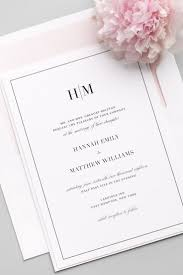 Card For Wedding Invites Best 25 Simple Wedding Invitations Ideas On Pinterest Wedding