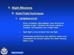 eyes sensitive to light at night wings of freedom rotary wing night flight part iv ppt download