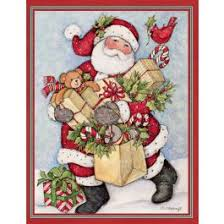 candy cane snowman u0026 santa assorted boxed christmas cards