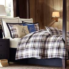 Eddie Bauer Rugged Plaid Comforter Set Bed U0026 Bath Interesting Plaid Comforter For Your Bedroom Design