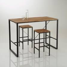 fabriquer une table bar de cuisine table haute cuisine chaise fabriquer but eliptyk