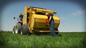 how to load netwrap l vermeer agriculture equipment youtube