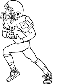 Football Coloring Pages For Kids Coloringstar Football Coloring Page