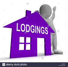 House Meaning by Lodgings House Meaning Place To Stay Or Live Stock Photo Royalty