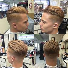 rockabilly rear view of men s haircuts 14 trendy short sides long top hairstyles short sides long top