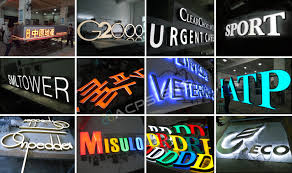 Outdoor Light Box Signs Fashion Sign Box Design Outdoor Advertising Business Shop Light