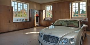 calgary garage cabinets and decorative garage flooring