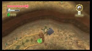 Skyward Sword Map The Legend Of Zelda Skyward Sword Lanayru Mine Goddess Cubes