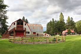 Wedding Barns In Washington State Leavenworth Wedding Venue In Washington State Pine River Ranch