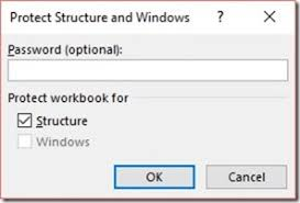 how to protect an excel 2016 workbook officesmart