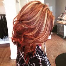 natural red hair with highlights and lowlights understand the background of auburn hair with blonde highlights now