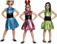 Powerpuff Girls Halloween Costumes Powerpuff Girls Costume Ebay