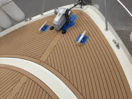 low cost boat deck flooring synthetic teak flooring supplier
