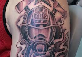 mask firefighter tattoos design pictures tattoomagz