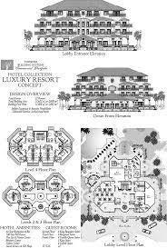 online commercial design concept luxury ocean front resort hotel