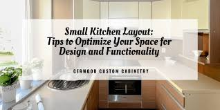 how to use small kitchen space small kitchen layout tips to optimize your space for design