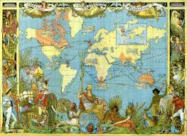 World Map Puzzles by Map Of The British Empire In 1886 Wooden Jigsaw Puzzle Liberty