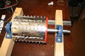 homemade homebrew diy apple crushing grinder scratter for cider