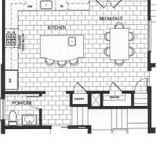 kitchen with island floor plans t shaped kitchen island layouts with floor plans surripui net