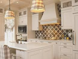 backsplash view black and white tile kitchen backsplash home
