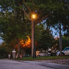 Outdoor Solar Lamp Post by Outdoor Lamp Post Lights In Garden U2014 All Home Design Ideas