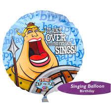 singing birthday 28 sings birthday singing mylar balloon