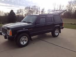 postal jeep conversion 1996 jeep cherokee rhd rare postal 4 0 6 cyl low miles excellent