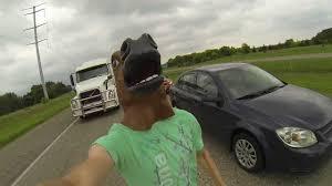 Meme Horse Head - running down interstate wearing a horse head youtube