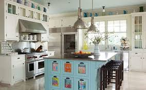 colorful kitchen islands turquoise colored kitchen island quicua