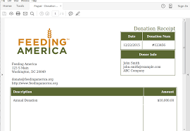 Non Profit Donation Receipt Letter Send Personalized Donation Receipts From Paypal Webmerge