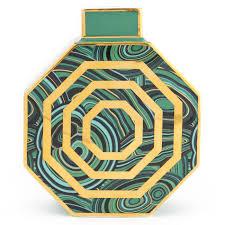 malachite oct vase pottery jonathan adler