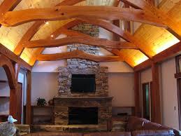 A Frame Homes Artstation Modern Oak Frame House Jarrod Kamelski Interior Loversiq