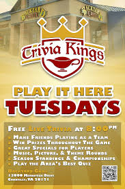 Backyard Bar And Grill Chantilly Trivia Kings Backyard Grill