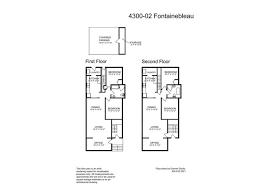 Fontainebleau Floor Plan B100