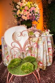 Copper Bistro Chair Reception Décor Photos Moss Covered Bistro Chair Inside Weddings