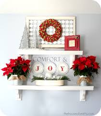 christmas decorating classic reds with modern patterns